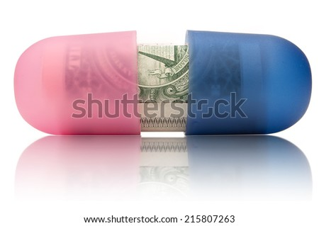 Healthcare costs  - stock photo