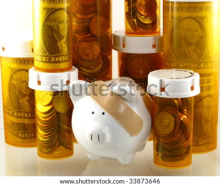 Healthcare Costs Concept - stock photo