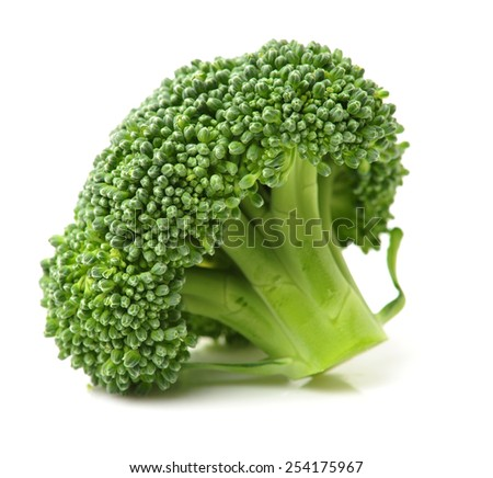 Healthy brocoli - stock photo