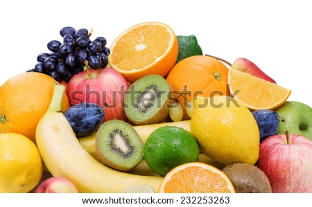 Healthy eating,ripe fruit .  - stock photo