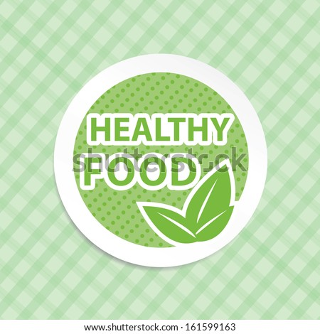 Healthy food concept, vintage style, autumn leaves - jpg format. - stock photo