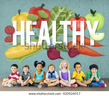 Healthy Health Check Lifestyle Nutrition Physical Concept - stock photo