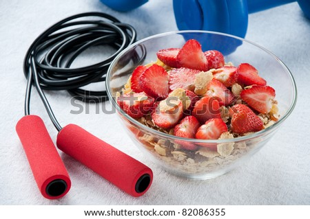 Healthy life-style concept - stock photo