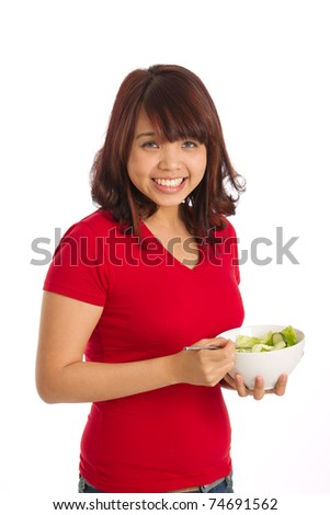 Healthy living lifestyle image - stock photo