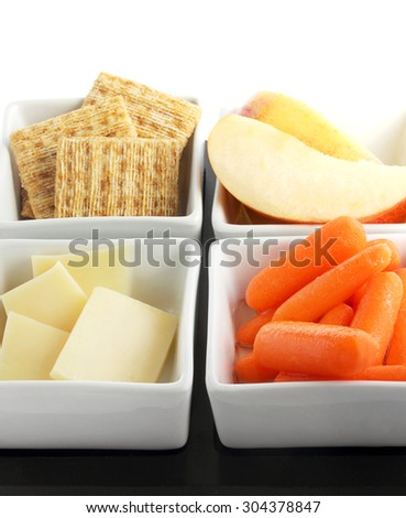 Healthy snacks - stock photo