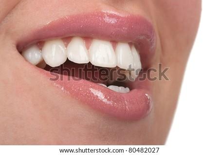Healthy teeth - stock photo