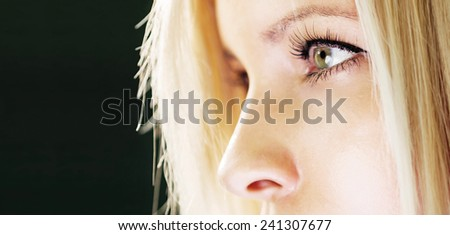 Healthy vision concept - stock photo