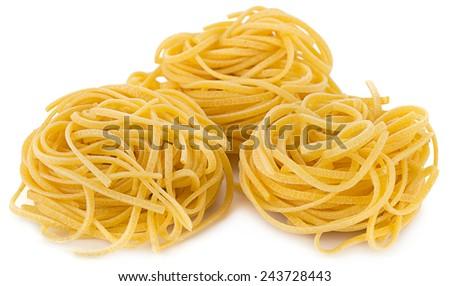 Heap of Spaghetti Pasta    - stock photo