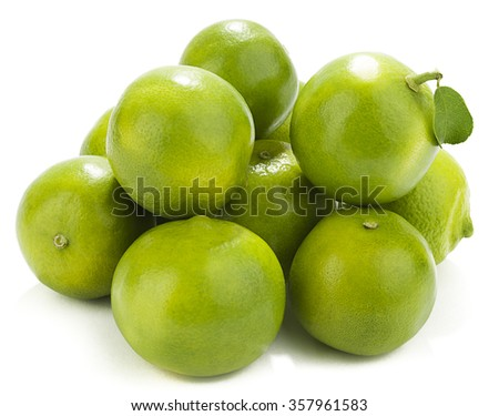 Heap of Sweet Lime  - stock photo