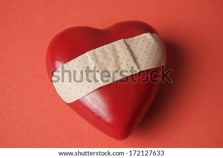 Heart Broken - stock photo