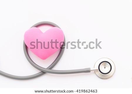 Heart checkup, medical concept - stock photo