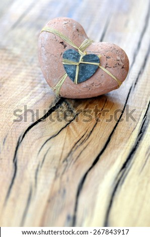 Heart for love - stock photo