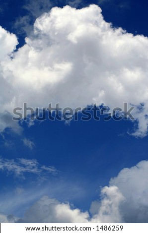 Heart in the Sky - stock photo