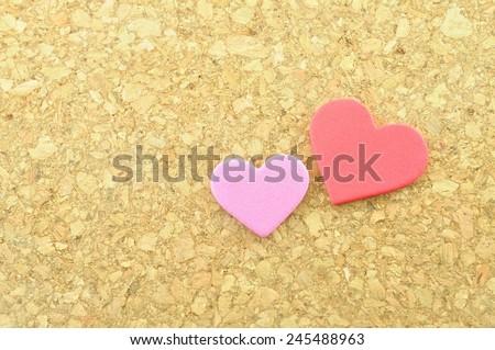 heart symbolic  - stock photo