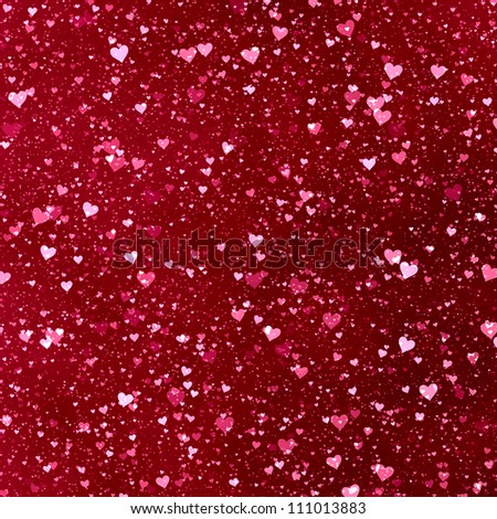 Hearts Glitter Backgrounds Heart Texture Background