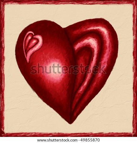 Heart to Heart - stock photo