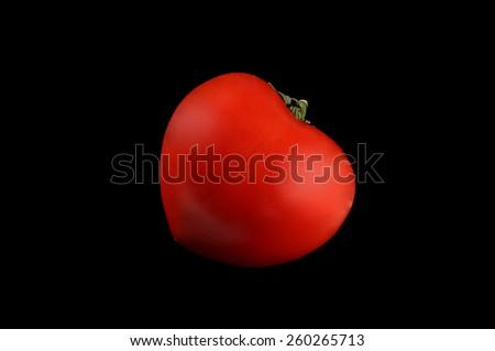 Heart tomato - stock photo