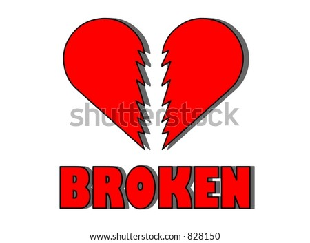 Heartbroken - stock photo