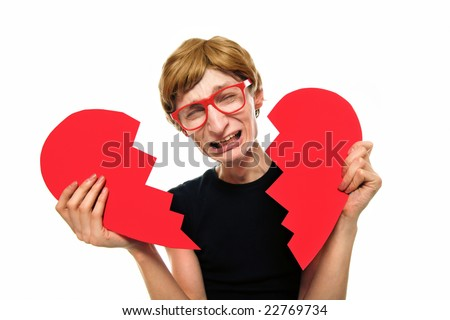 Heartbroken boy, similar available in my portfolio - stock photo