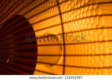 heater details view - stock photo