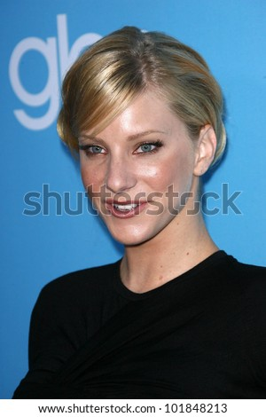 """Heather Morris at the """"GLEE"""" Season 2 Premiere Screening and DVD Release Party, Paramount Studios, Hollywood, CA. 08-07-10 - stock photo"""