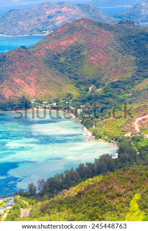 Heaven Seascape Scenic  Holidays  - stock photo