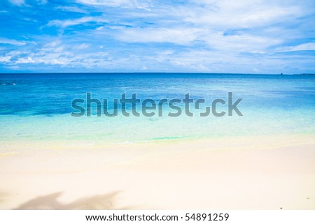 Heavenly Shores - stock photo
