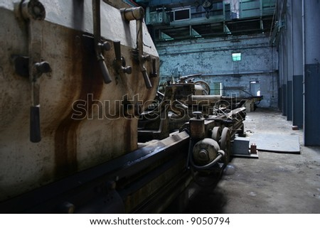 Heavy Industrial Machinery - stock photo