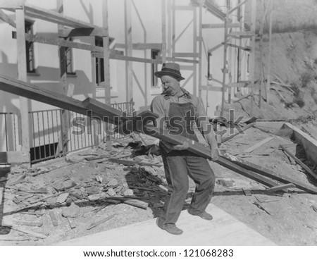 Heavy lifting - stock photo