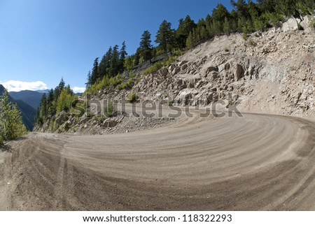Heckman Pass in the Rainbow Range by Bella Coola Valley, Cariboo Country, British Columbia, Canada - stock photo