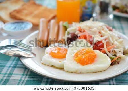 Helianthus tuberosus salad food healthy breakfast for weight loss. - stock photo