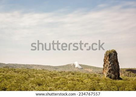 Hell's Gate, Kenya - stock photo