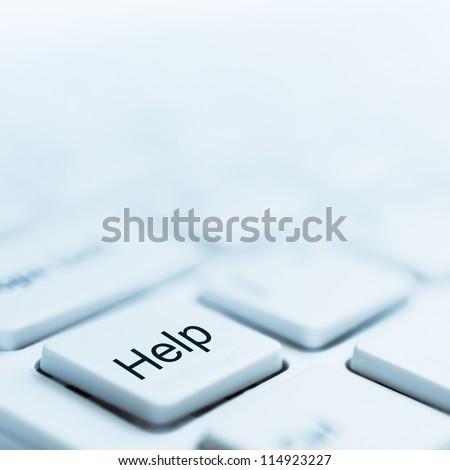 help - stock photo