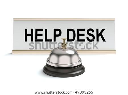 Help desk - stock photo