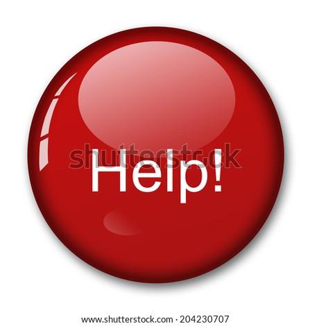 help sign - stock photo