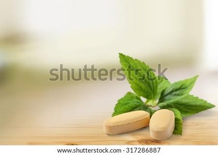 Herbal Medicine. - stock photo