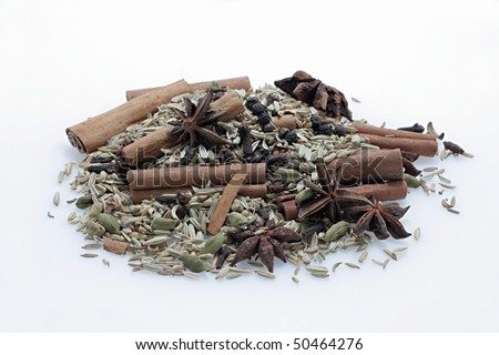 Herbs and Spices - stock photo