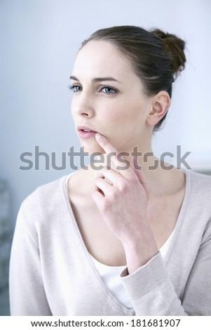 Herpes - stock photo