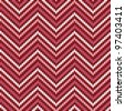 Herringbone Tweed pattern in candy cane colors repeats seamlessly. - stock photo