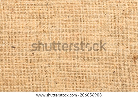 Hessian or gunny linen texture - stock photo