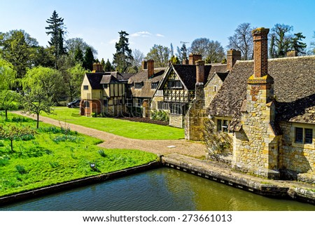 Hever Castle, Hever, Kent, England. - stock photo