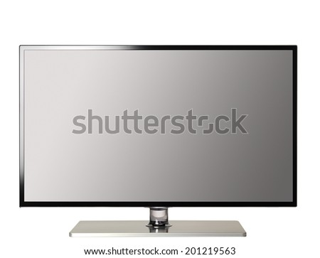 HI-Def Television - stock photo