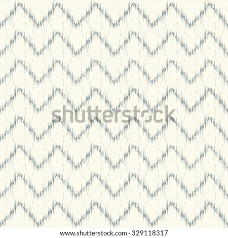 Hi-res seamless pattern design with traditional ikat repeating ornaments, chevron pattern background for all print and web use. - stock photo