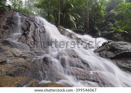 beautiful soft waterfall in - photo #43