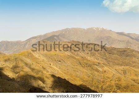 High Atlas, Morocco - stock photo