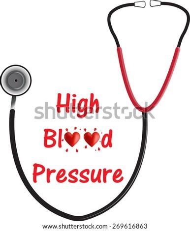 High Blood Pressure (Hypertension) - stock photo