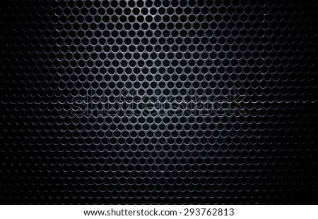 high definition black metal wall texture - stock photo