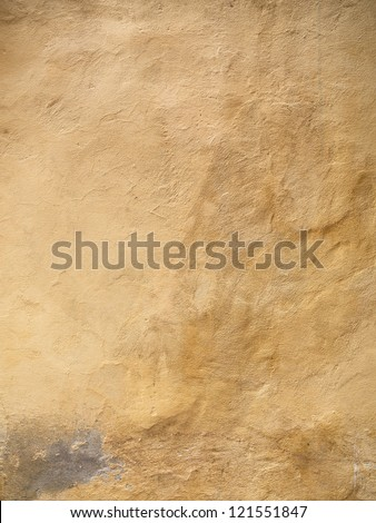 High definition photograph of a ancient worn wall in Italy shot in medium format Hasselblad and Phase One digital for maximum quality. - stock photo