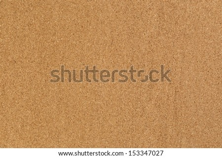 high detailed cork board texture, close up - stock photo