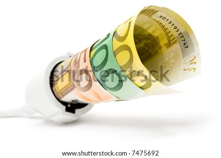 High Electricity Costs - stock photo